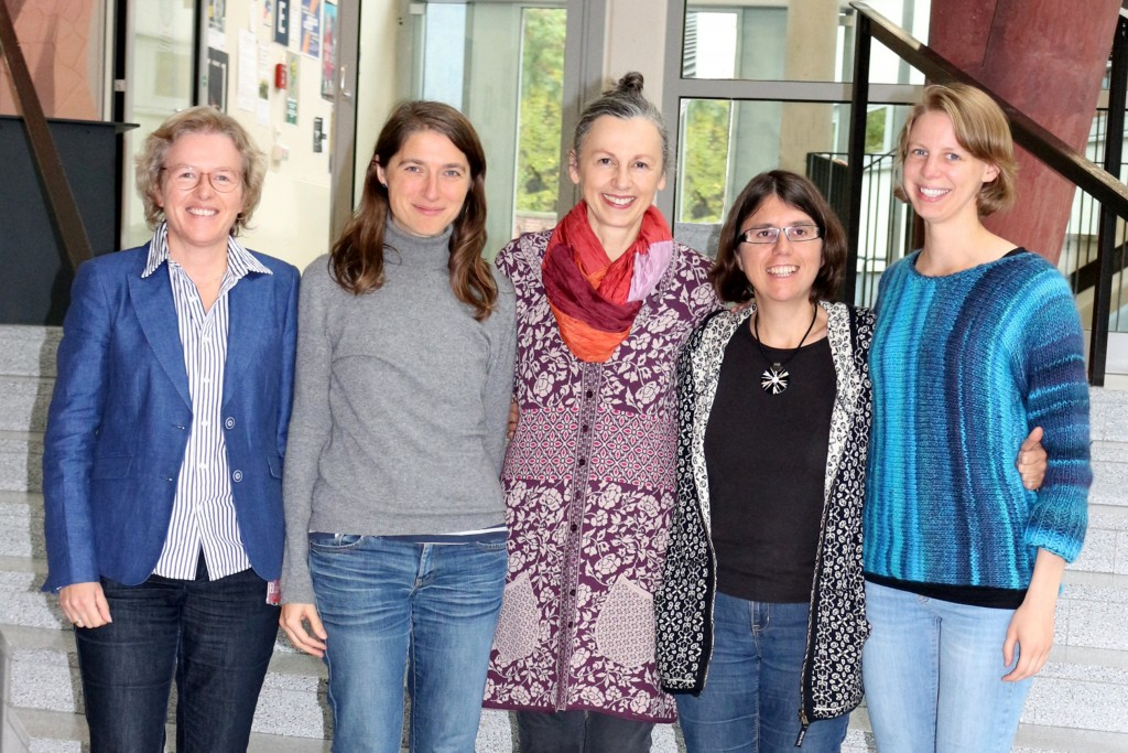 From left to right: Sandra Schiller, Katharina Röse, Ulrike Marotzki, Silke Dennhardt, Dorothea Harth